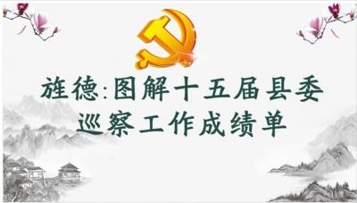 旌德:图解十五届县委巡察工作成绩单