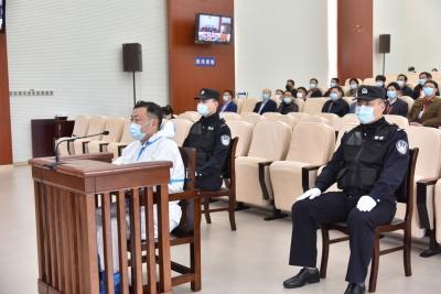 安徽省政府原副秘书长许刚受审