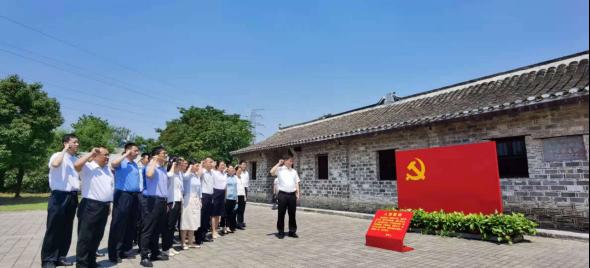 省纪委监委第十纪检监察室:追忆百年党史 汲取奋进力量