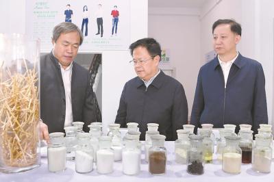 郑栅洁在蚌埠调研时强调 下好创新先手棋 切实把科技资源优势转化为产业发展优势