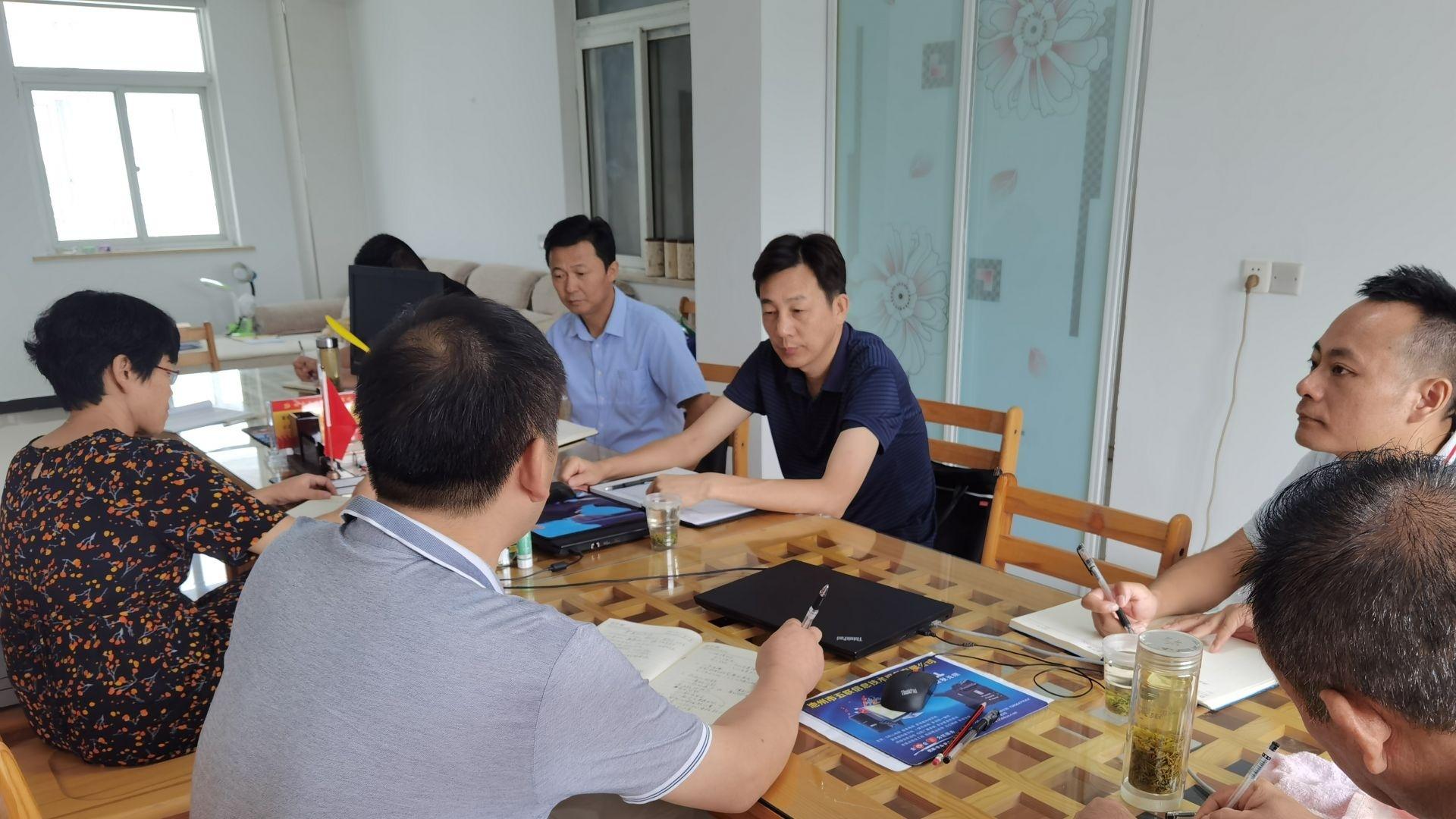 王盛强到区委巡察组驻地指导工作