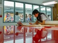 故宫文物医院首次开放 志愿者正式上岗