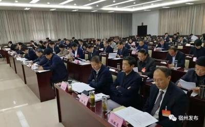 宿州市五届人大常委会第七次会议开幕