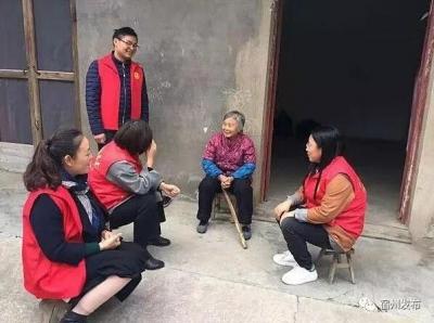 """城东街道党员志愿者开展""""扶贫助困、送温暖""""活动"""