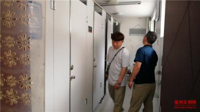宿州市城管局埇桥分局环卫所开展公厕管理专项检查