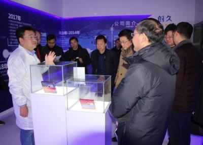 皖北党报一行来郑蒲港新区集中采访