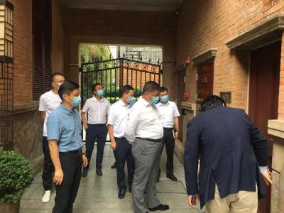 陈永红率队赴上海市招商引资