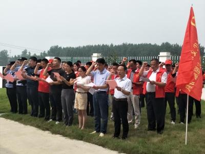 石杨镇:启动皖苏两省新时代文明实践省际联动党员志愿服务活动