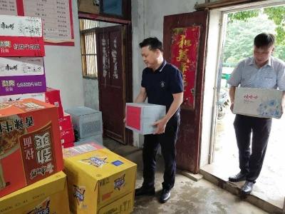 乌江镇:点滴爱心汇聚打赢抗洪抢险信心和动力