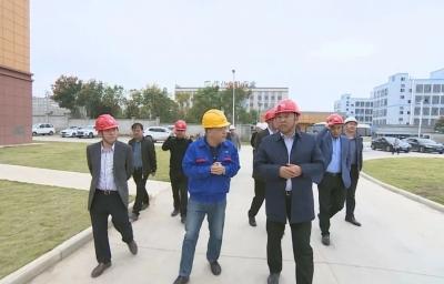 陈永红督查重点项目建设 走访重点企业
